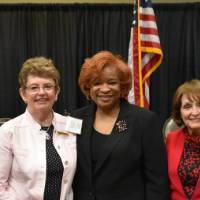 Past distinguished women in higher education recipients